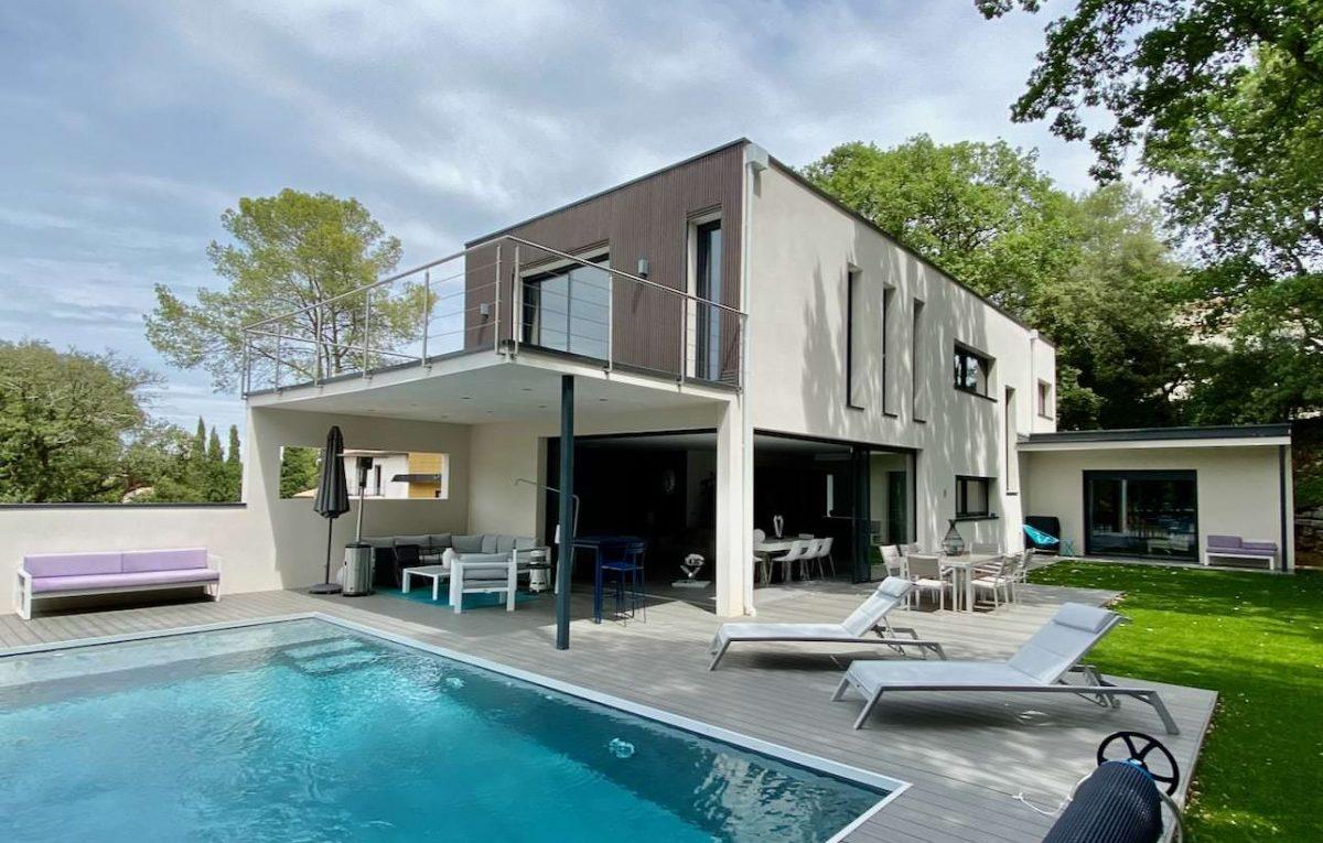 villa architecte sur montpellier